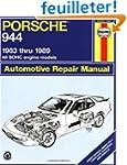 Porsche 944 Automotive Repair Manual...