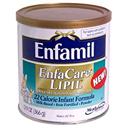 Enfamil EnfaCare Lipil Milk-Based Infant Formula, Iron Fortified, Powder , 12.9 oz (366 g)
