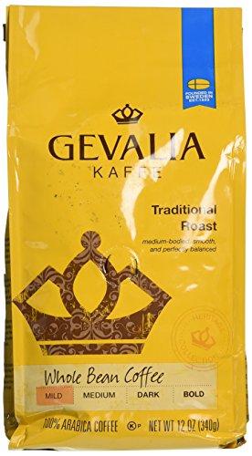 Gevalia Kaffee Traditional Roast Whole Bean Medium Coffee (Coffee Gevalia Whole Bean compare prices)
