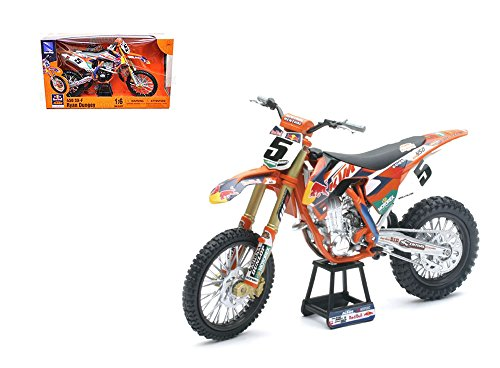 NEWRAY 1:6 MOTORCYCLE KTM 450 SX-F - RED BULL RYAN DUNGEY (Die Cast Dungey Red Bull compare prices)