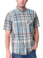 BIG STAR Camisa Hombre Narog_Shirt_Ss 335 L (Multicolor)