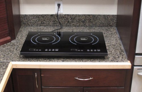 Double Induction Cooker ~ True induction cooktop s f double burner energy