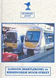London (Marylebone) To Birmingham Moor Street Cab Ride Dvd - Class 168 (Chiltern Railways)