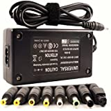Intocircuit 90W Universal AC Adapter Battery Charger Power Supply For Most laptops, 9 Tips