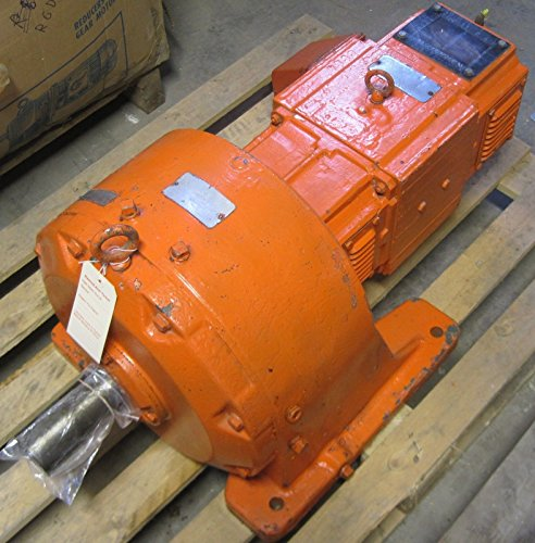 Reliance 7.5Hp 240Vac 1750/2400Rpm Motor 7Lh840170T9 With 20.9:1 Gear Reducer