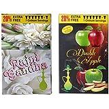 Rajni Gandha & Double Apple Hookah Flavour Pack Of 2