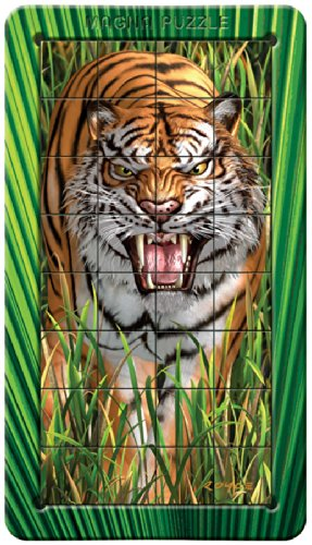 Outset Media Tiger: Lenticular Puzzle - 1