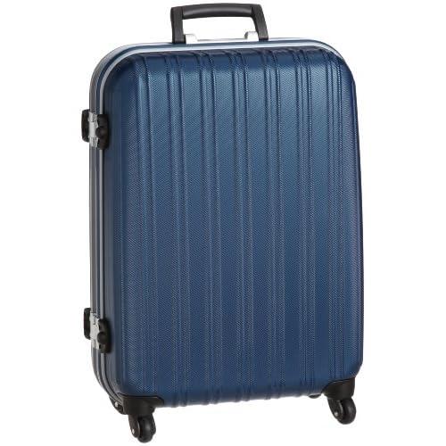 [ジェットエージ] JETAGE ウォッシュ ポリカーボネート製スーツケース Sサイズ(58cm) 74-20202 ブルー (ブルー)
