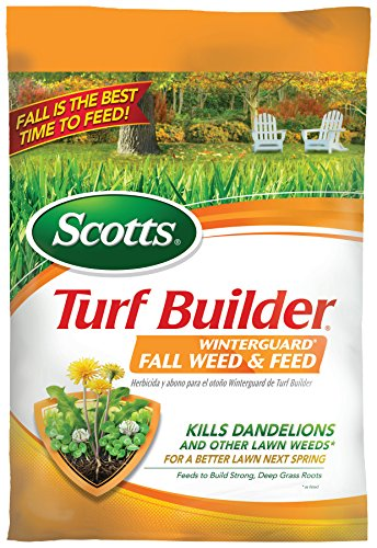 Scotts Turf Builder Winterguard Fall Weed And Feed 14 Lb