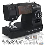 TOYOTA Super Jeans J34 Sewing Machine (Glides Over 12 Layers of Denim) w/ Gliding Foot, Blind Hem Foot, Zipper Foot, Overcast Foot, Needles and More!