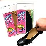 ゆるい靴のサイズ調整に フィットソール