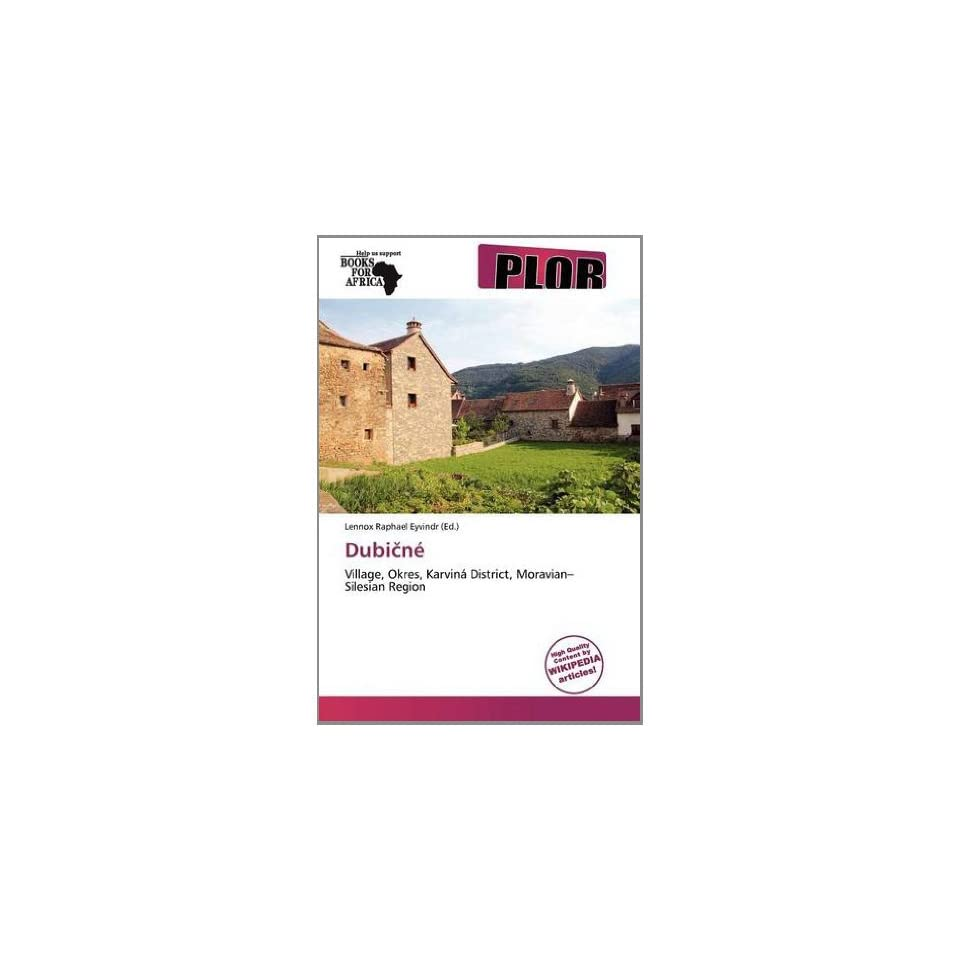 Dubiné (9786138733256) Lennox Raphael Eyvindr Books
