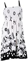NY Deal Women's Printed Tube Dress Cover Up, Various Color Available