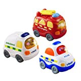 Vtech Toot Drivers Three Pack Emergency Vehicles