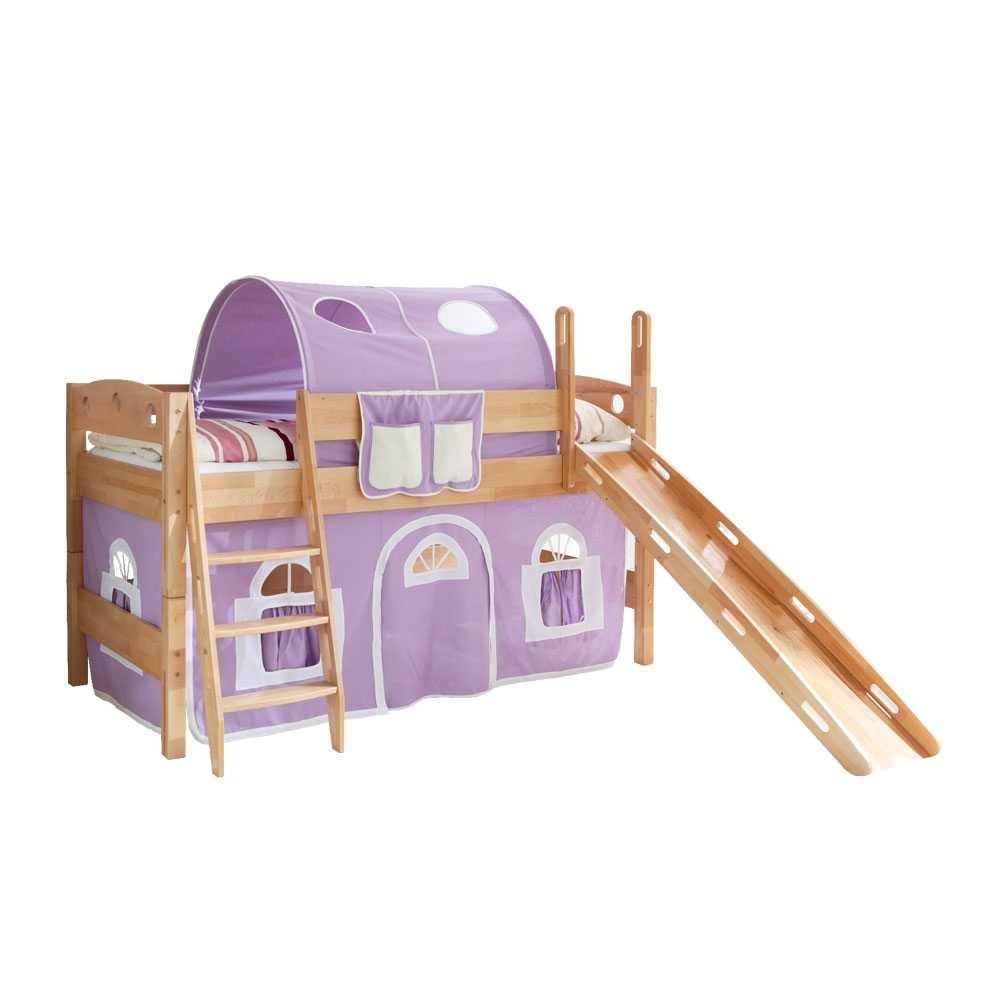 Rutsch-Spielbett Fabielle aus Buche Pharao24