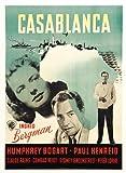 Casablanca Poster Movie Swedish 11×17 Humphrey Bogart Ingrid Bergman Paul Henreid Claude Rains