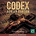 Codex Audiobook by Adrian Dawson Narrated by Lewis Hancock