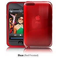 iSkin Vibes iPod Touch 2G & 3G PolyCarbonate Crystal Case - Red