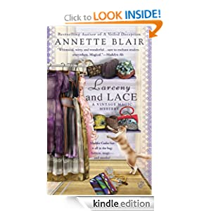 Larceny and Lace (Vintage Magic Mystery) Annette Blair
