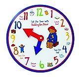 Paddington Aprender a decir la hora del reloj de madera, por los diseños del arco iris