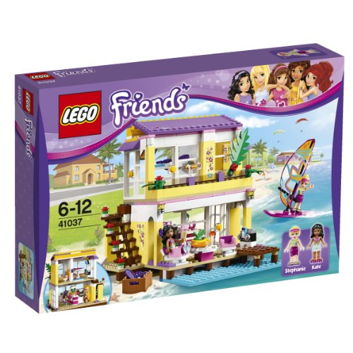 Lego Friends Stephanie'S Beach House 41037 front-12052