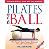 Pilates On The Ball Book Dvdby Colleen Craig