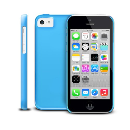 Apple iPhone 5C Slim Case by Photive. High Gloss Premium Hard Shell Case with UV coating Designed for the New iPhone 5C - Blue