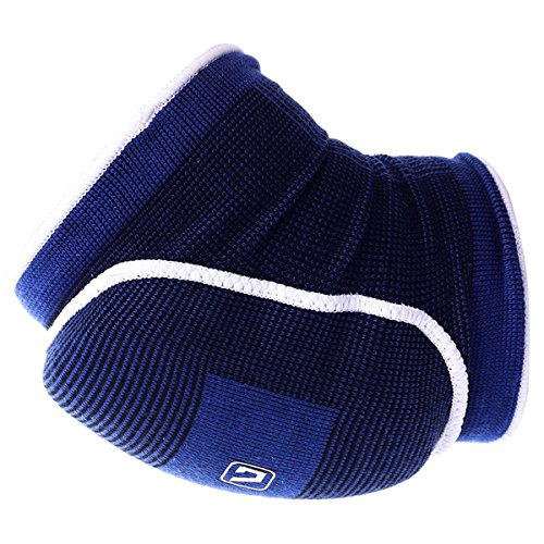LiveupSPORTS Compression Elbow Pad Cap Sleeve/Brace Best Support for Yoga Pilates Tennis Tendinitis Golfers Weightlifting Arthritis - Reduce Joint Pain-LS5703 Large Size (Nerve Function Chart compare prices)