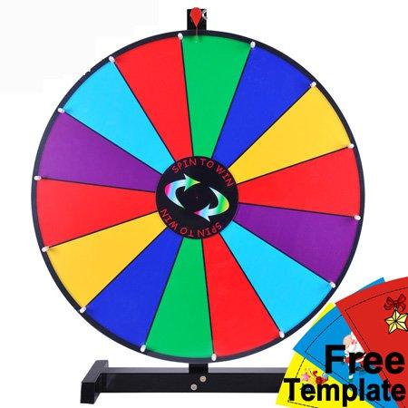 prize wheel template