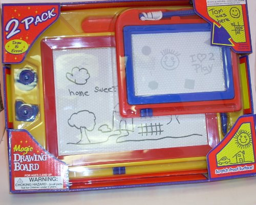 Easy Write Magic 2 Pack Magnetic Drawing Board