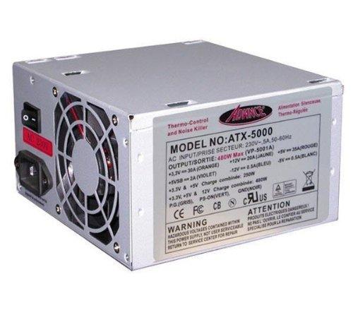 Alimentation interne pour PC - ATX - 480W max