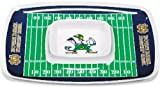 BSI Home Indoor Kitchen Serving Sports Team Logo Notre Dame Fighting Irish Chip and Dip Tray
