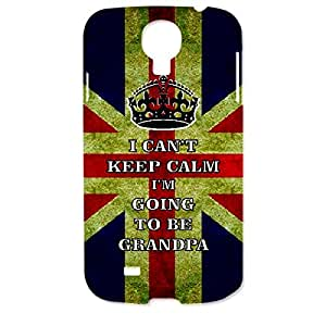 Skin4gadgets I CAN'T KEEP CALM I'm GOING TO BE GRANDPA - Colour - UK Flag Phone Designer CASE for SAMSUNG GALAXY S4 (I9500)