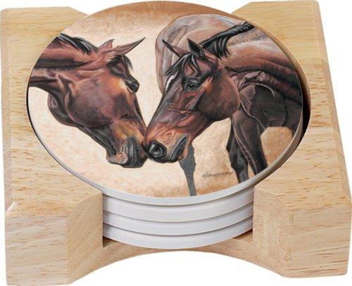 Horse Coaster Set