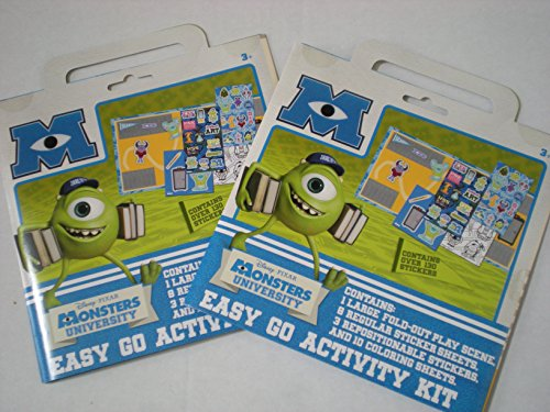 Monsters University Easy Go Activity Kit, 2-Pack