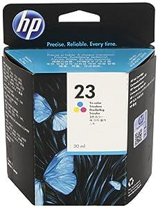 HP 23 (C1823D) Tri-color Original Ink Cartridge