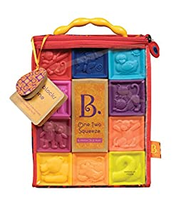 B. One Two Squeeze Blocks from Toysmith