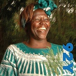 Nobel Laureate Wangari Muta Maathai with Chris Johnsat the 92nd Street Y Speech