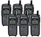 6 Pack of Motorola DTR410 Two way Radio Walkie Talkies |+$125 and FREE 6-unit charger through mail-in REBATE|