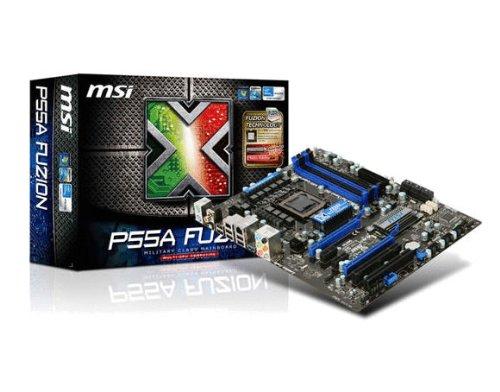 MSI LGA1156/ Intel P55/ SATA3 and USB 3.0/ ATI CrossFireX/ A&GbE/ ATX Motherboard P55A FUZION