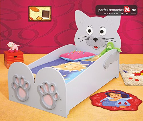 Cat Bett Kinderbett Spielbett inkl. Lattenrost und Matratze kurze Lieferzeit! Groß (204 cm x 68 cm x 111) jetzt bestellen