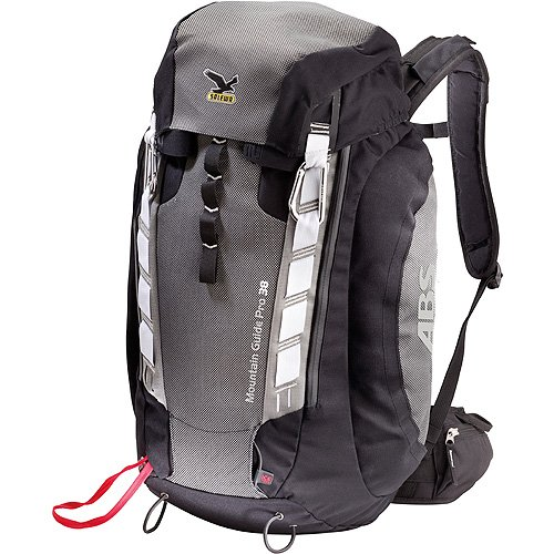 SALEWA Rucksack Mountain Guide 38 ABS, Black/Carbon, One size, 00-0000004955