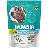 アイムス (IAMS) キャット インドア毛玉ケア 体重管理用 1-6歳用 厳選白身魚味 850g