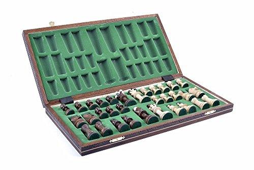 Wegiel Chess Set - Consul Chess Pieces and Board - European Wooden Handmade Game 2