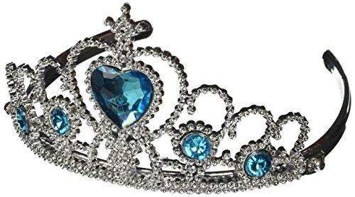 katara-1682-girls-pink-princess-tiara-silver-light-blue