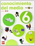 img - for Conocimiento del medio. 6 Primaria. Proyecto Timonel. Trimestres book / textbook / text book
