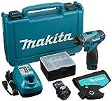 マキタ 充電式ドライバドリル 10.8V 1.3Ah バッテリー2個付き DF030DWX