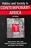 img - for [Politics and Society in Contemporary Africa] (By: Naomi Chazan) [published: October, 1999] book / textbook / text book