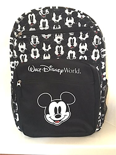 walt-disney-world-mickey-mouse-black-white-expressions-backpack-new