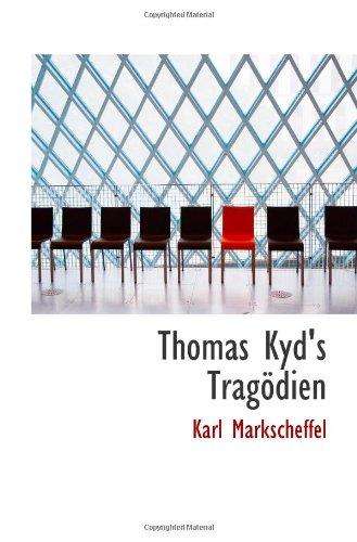 Thomas Kyd's Trag PDF